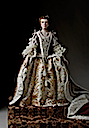 1761 Queen Charlotte Sophia figurine by George Stuart (Museum of Ventura County - Santa Paula, California USA)