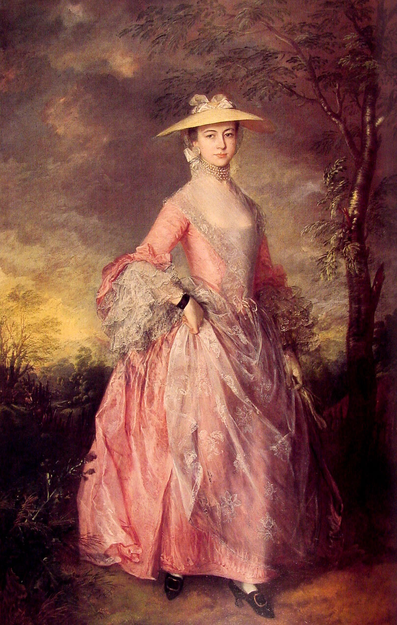 1764 Mary, Countess of Howe by Thomas Gainsborough (Kenwood House -  Hampstead, London United Kingdom) | Grand Ladies | gogm