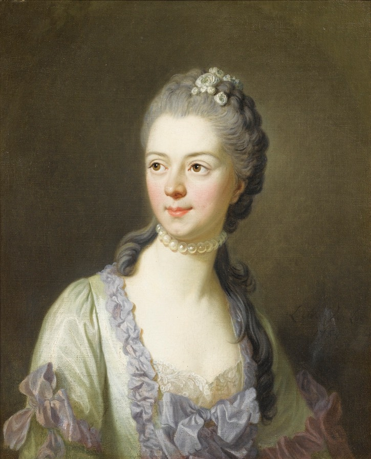1764 Princess Galitzine by Louis-Michel van Loo (auctioned by Sotheby's) From liveinternet.ru:users:marylai:page163.shtml
