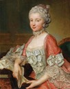 1765 Elisabeth Tscharner, née von Wattenwijl by Johann Nikolaus Grooth (auctioned by Dorotheum) From pinterest baroque women