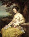 1766 Anne Damer as Ceres by Angelica Kauffman (auctioned by Sotheby's)