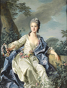1766 Comtesse Marie-Louise de Beaurepaire by Louis-Michel Van Loo (auctioned by Sotheby's) From Sotheby's increased exposure