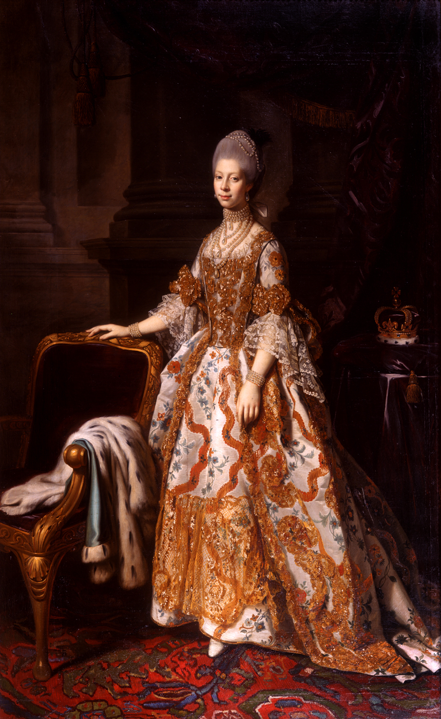 1769ca. Queen Charlotte by Sir Nathaniel Dance-Holland ...