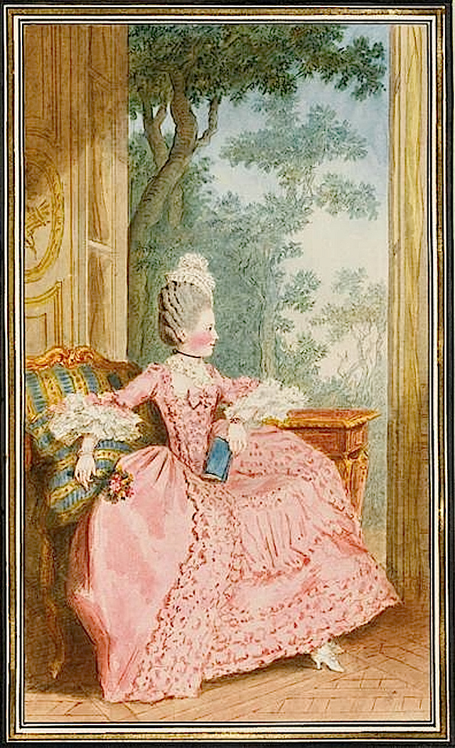 1770 Madame la duchesse de Chartres by Louis Carrogis (Musée Condé - Chantilly France) Photo - René-Gabriel Ojéda size doubled