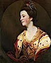 1770s Emily FitzGerald, Duchess of Leinster by Sir Joshua Reynolds (location unknown to gogm)