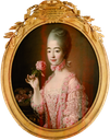 1772 Marie Josephine Louise Savoie by or after Francois-Hubert Drouais (location unknown to gogm)