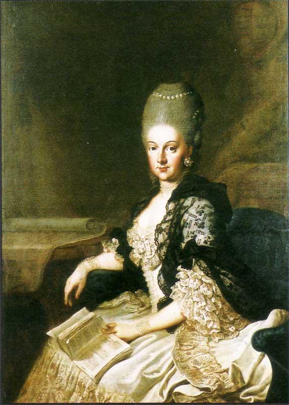1773 anna amalie von saxe weimar eisenach by j e heinsius location unknown to gogm grand. Black Bedroom Furniture Sets. Home Design Ideas