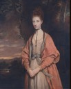 1773 Honorable Mrs. Damer by Sir Joshua Reynolds (Yale Center for British Art, Yale University - New Haven, Connecticut USA)