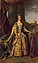 1773 Queen Charlotte in court dress by Sir Nathaniel Dance-Holland (Philip Mould)