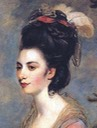 1775 Mrs.Richard Crofts by Sir Joshua Reynolds - bust From pinterest.com:perlesrares:sir-joshua-reynolds:?lp=true reduced contrast shadows