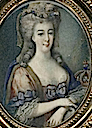 1778 Oval portrait of Marie-Antoinette