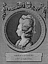 1778 Portrait of Maria Theresa of Savoy by Marie-Louise-Adélaïde Boizot after Louis-Simon Boizot (sculptor) (Bibliothèque nationale de France - Paris France)