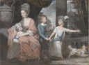 1780 Wife, née Catherine Eden, and children of John Moore, Archbishop of Canterbury by Daniel Gardner (Tate Collection - London, UK) From the museum's Web site