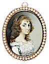 1780s (late) Maria Tryphena Blunt, Lady Cockerell by George Engelhart (Fitzwilliam Museum - Cambridge, Cambridgeshire UK)
