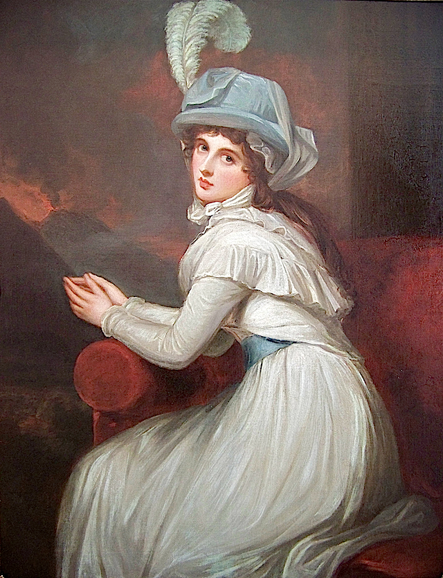 1781 Lady Emma Hamilton as Ambassadress by George Romney (location unknown to gogm) Piedmont Fossil's photostream on flickr
