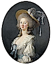 1781 or 1782 Princesse de Lamballe by Élisabeth-Louise Vigée-Lebrun (location unknown to gogm)