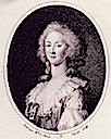 1781 or 1782 Princesse de Lamballe print by Joseph Boze after Élisabeth-Louise Vigée-Lebrun