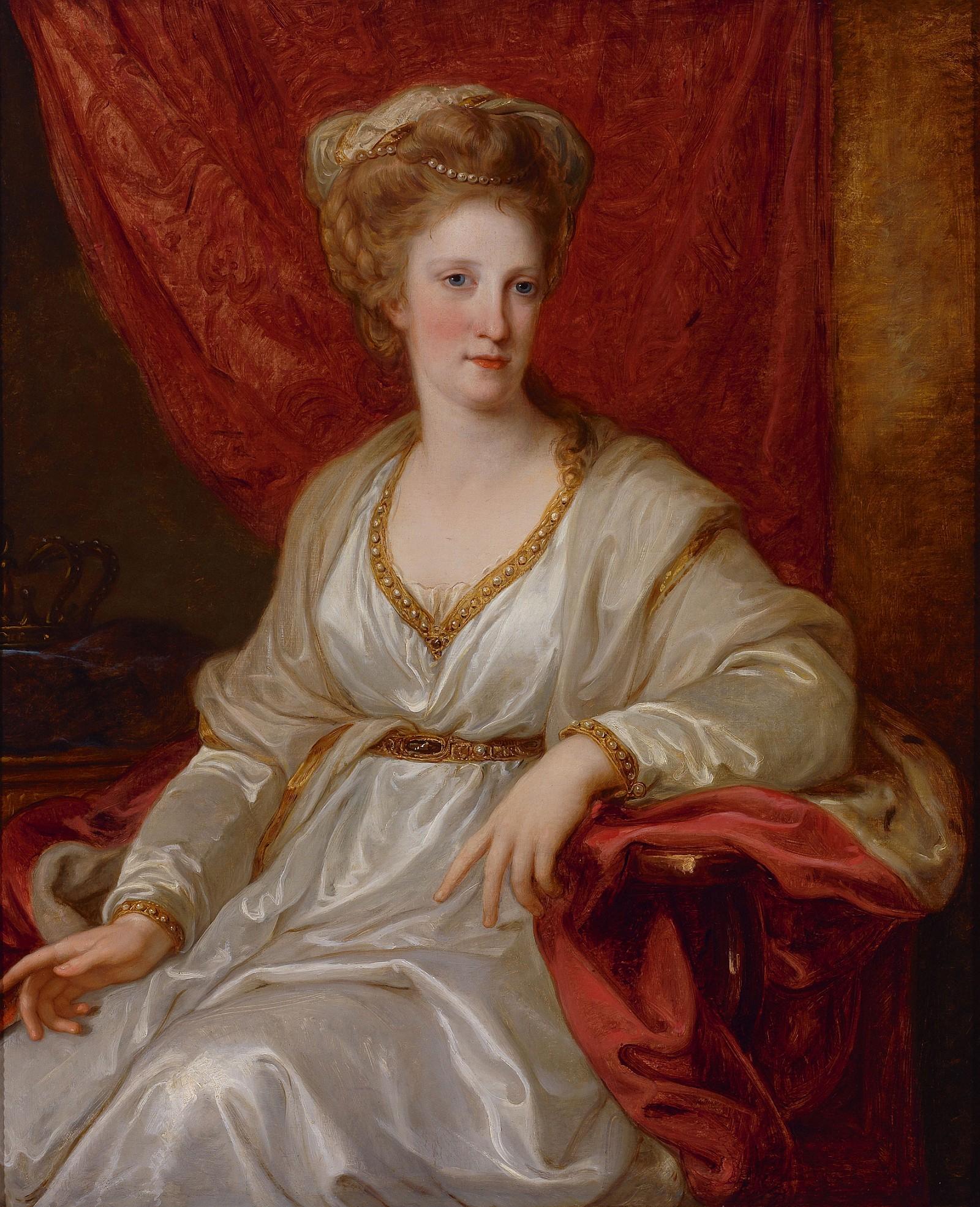 1782-1783 Maria Carolina of Austria by Angelika Kauffman (Vorarlberger  Landesmuseum - Bregenz, Voralberg Austria)