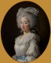 1782 Comtesse de Provence by Élisabeth Louise Vigée Lebrun (location unknown to gogm)