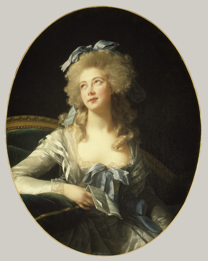 1783 Catherine Noele Grand (née Worlée), Later Madame Talleyrand-Périgord, Princesse de Bénévent by Élisabeth Louise Vigée Lebrun (Metropolitan Museum of Art - New York City, New York, USA) UPGRADE From piogirls.livejournal.com:784.html