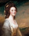 1783 Lady Frances Gough (d.1827), second daughter of General Benjamin Carpenter, by George Romney (Pallant House Gallery - Chichester, West Sussex, UK) From Google search X 1.5 #199944