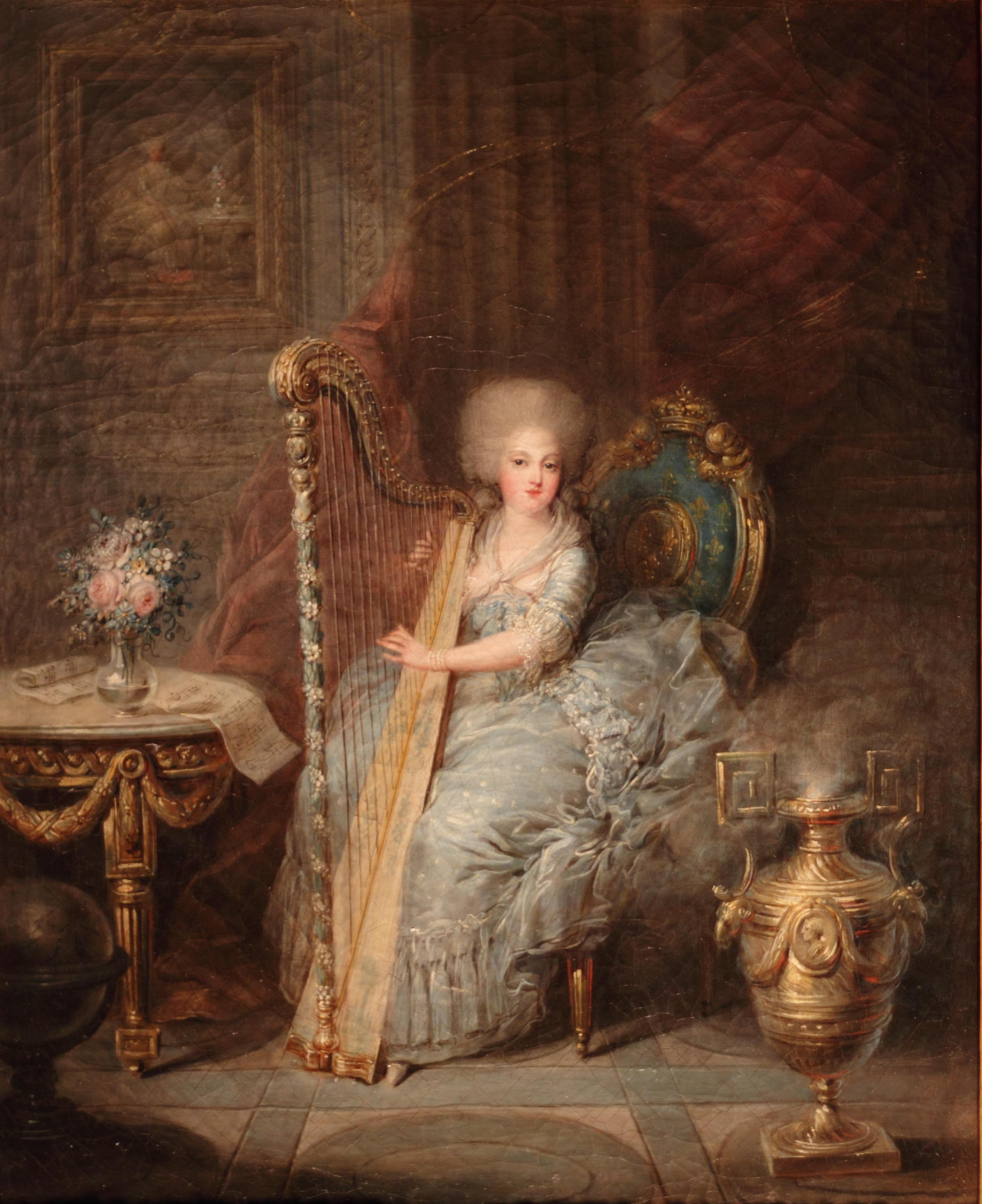 Robe A La Polonaise: Rococo Atelier: Second Robe à La Polonaise