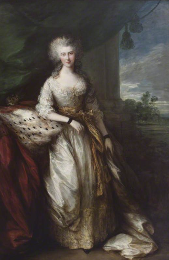 1784 Caroline Conolly, Countess of Buckinghamshire by Thomas Gainsborough (Blickling Hall - Blickling, Norwich, Norfolk, UK) From smodsy.tumblr.com-post-60846276526-the-garden-of-delights-caroline-conolly