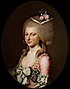 1784 Luise Auguste von Augustenburg met de Orde van Christiaan VII by Jens Juel (location unknown to gogm)