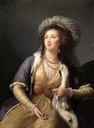 1785 Comtesse de Clermont-Tonnerre as a Sultana by Élisabeth Louise Vigée Le Brun (private collection) From the Metropolitan Museum of Art's Web site
