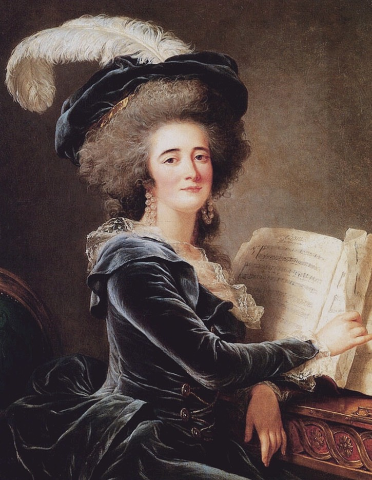 1787 Comtesse de Selve by Adélaïde Labille-Guiard (private collection)