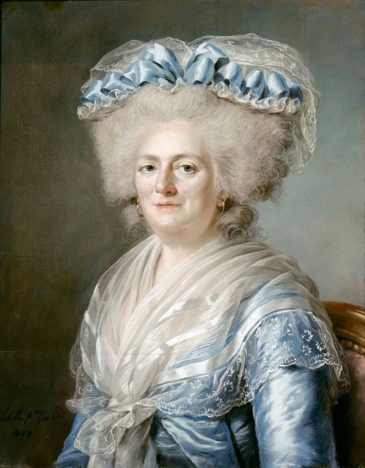 1787 Madame Victoire de France de Adélaïde Labille-Guiard, la galería perdida (Châteaux de Versailles et Trianon - Versailles, Île-de-France, Francia)