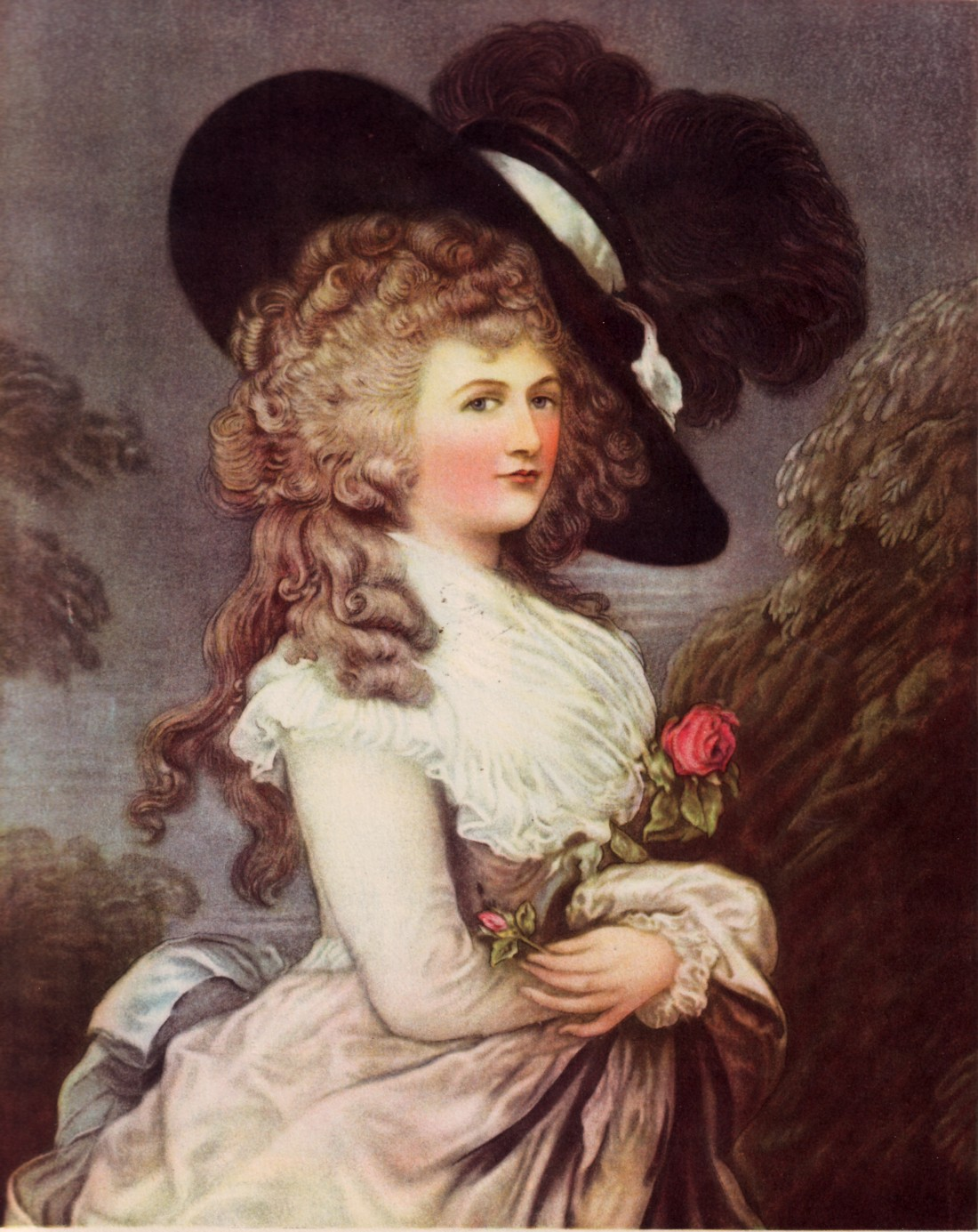 Costumekullan 18th century hairstyle for The devonshire