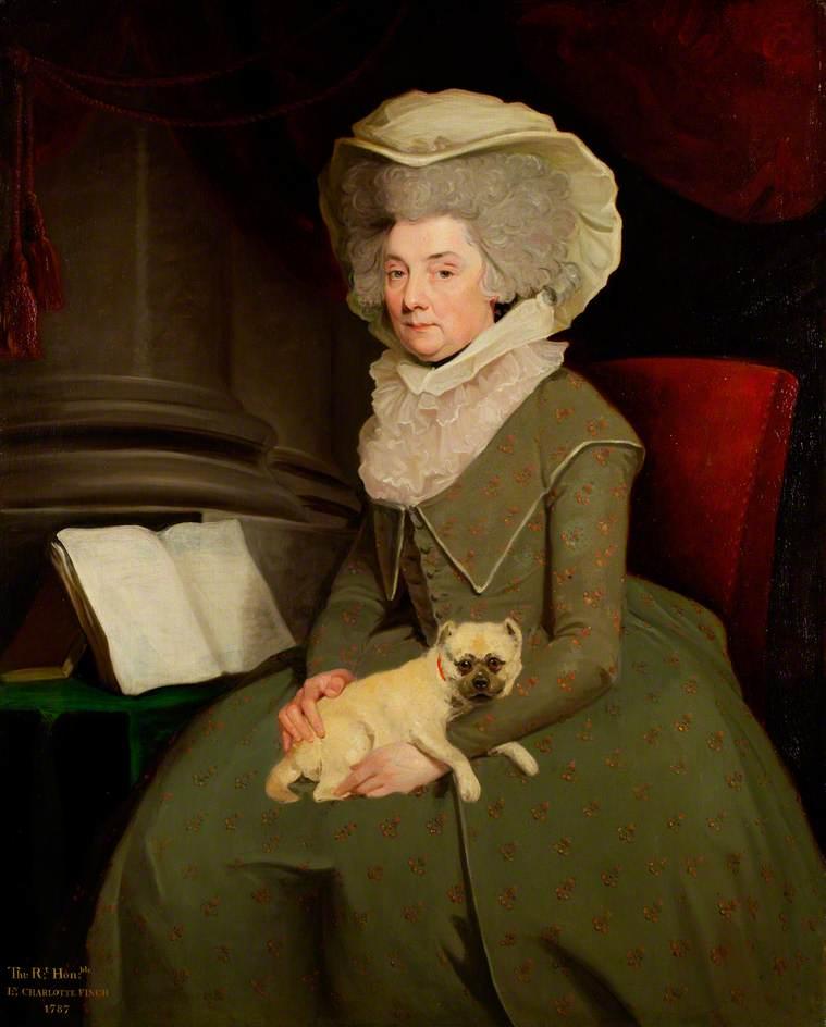 Gelbe Tapete Charlotte Perkins Gilman : King George III