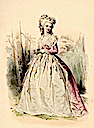 1788 Color print of Princess Lamballe