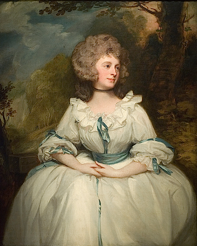 1788 Lady Lemon by George Romney (location unknown to gogm) Maulleigh's photostream on flickr Photo - Maulleigh