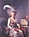 1788 Madame Élisabeth in a gown à la Turc by Adélaïde Labille-Guiard (location unknown to gogm)