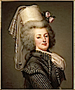 1788 Marie-Antoinette in Amazon dress by Adolph Ulrich Wertmüller (Versailles)