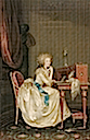 1788 Portrait of Marie-Therese, Princesse de Lamballe by Anton Hickel (Liechtenstein Museum, Wien)