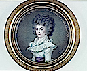 1789 Princesse de Lamballe minature by Claude Bornet