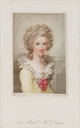 1790 Anne Seymour Damer by Richard Cosway (Lewis Walpole Library, Yale University - New Haven, Connecticut USA)