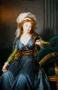 1790 Countess Skavronskaya, née Ekaterina Vassilievna Engelhardt painted in Naples by Élisabeth-Louise Vigée-Lebrun (Institut de France, Musee Jacquemart-Andre - Paris, France)