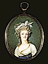 1790 Miniature of Marie-Antoinette by Francois Dumont (location unknown to gogm)