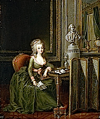 1790ca. Marie Thérèse, Princesse de Lamballe by Alexander Kucharsky (location unknown to gogm)