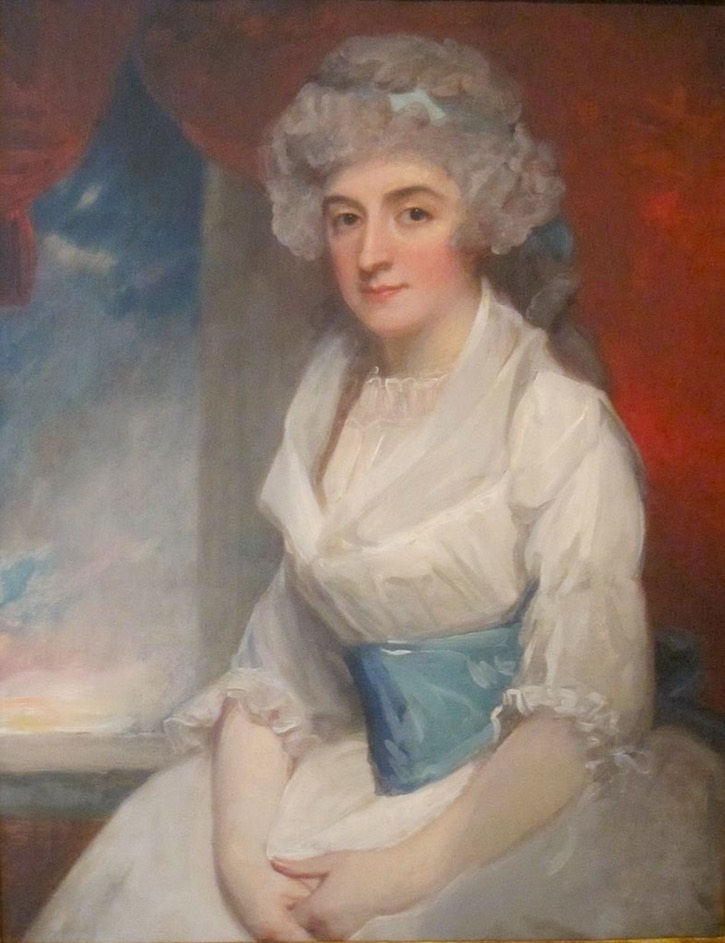 1791 Lady Elizabeth Haythorne by George Romney (Honolulu Museum - Honolulu, Hawaii, USA) From the-athenaeum.org increased saturation, contrast, and temperature