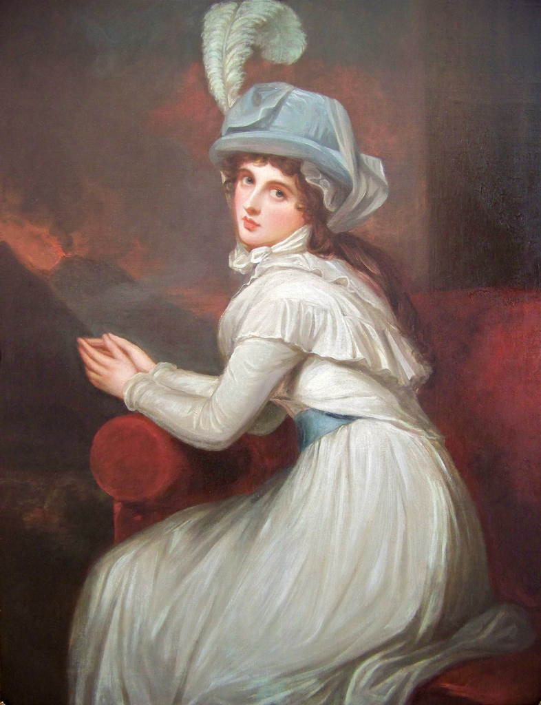 1791 Lady Emma Hamilton as Ambassadress by George Romney ...