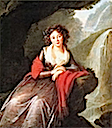 1791 Anna Cetner, future Duchess of Elbeuf by Élisabeth Louise Vigée-Lebrun (Kimbell Art Museum, Fort Worth Texas)