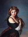 1791 Hyacinthe Gabrielle Roland, Marchioness Wellesley by Elisabeth Vigee-Lebrun (Museum of Fine Arts — California Palace of the Legion of Honor, San Francisco)