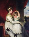 1792 Georgina, Countess of Bathurst and Her Son by John Hoppner (private collection)