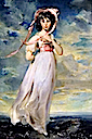"1794 Sarah Barrett Moulton by Sir Thomas Lawrence, ""Pinkie"" (Huntington Library, Pasadena USA)"
