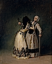 "1795 Duchess of Alba and ""la Beata,"" her dueña by Francisco José de Goya y Lucientes (Prado)"